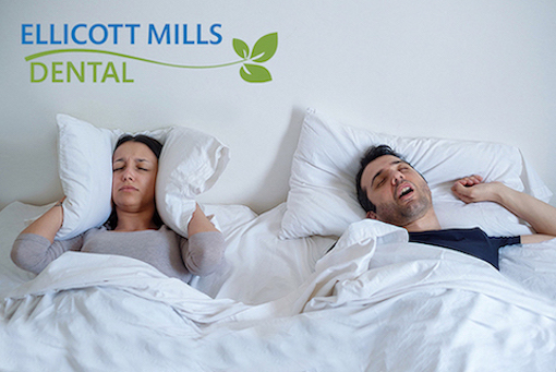 Sleep Apnea Depiction | Ellicott Mills Dental